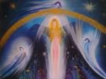 Tanec modrých andělů