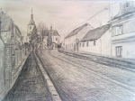 Sedlčany Církvičská ulice