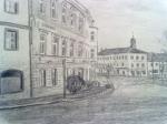 Sedlčany náměstí