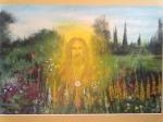 Ježíš v zahradě